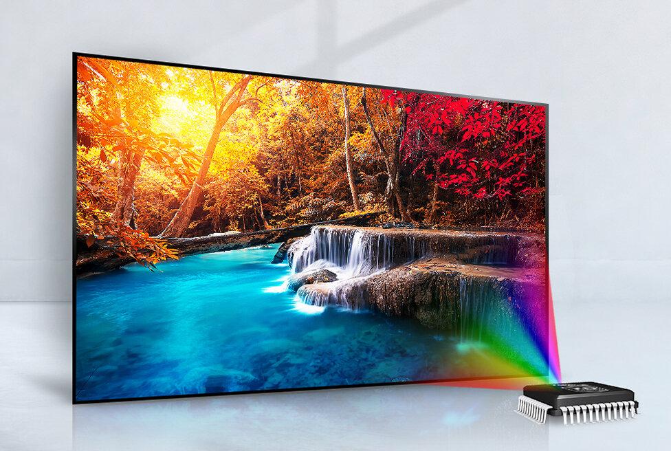 TV Led HD LG với màn hình mỏng tinh tế đẹp mắt