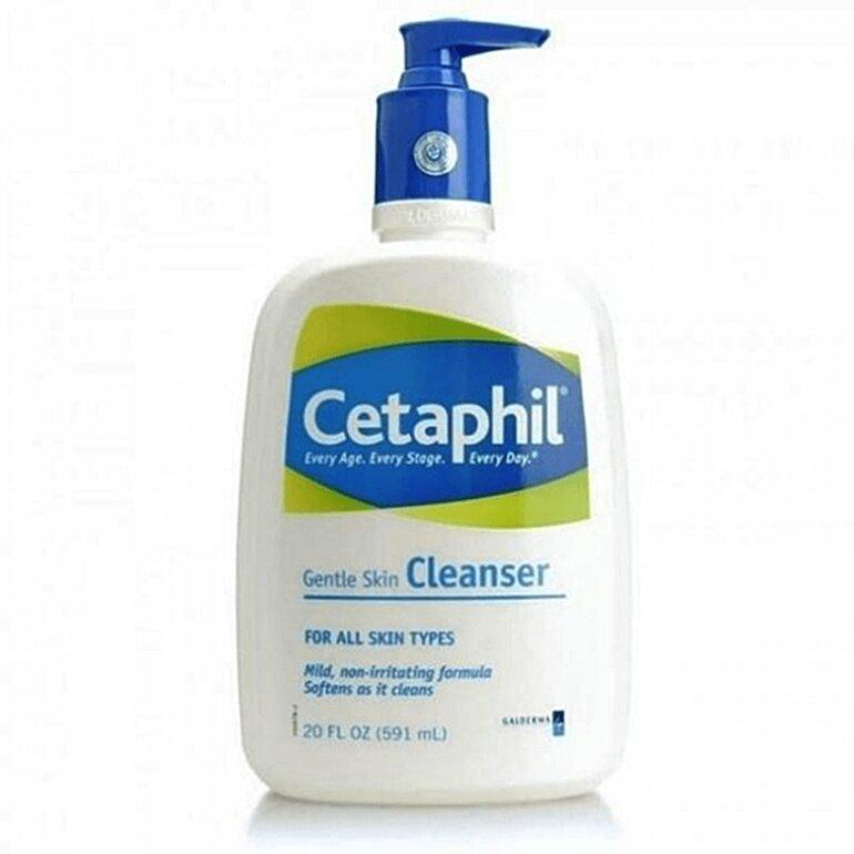 Công dụng của sữa rửa mặt Cetaphil