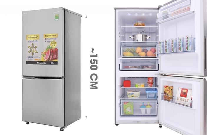 Tủ lạnh Panasonic Inverter 255 lít NR-BV289QSV2 - Giá rẻ nhất: 7.400.000 vnđ