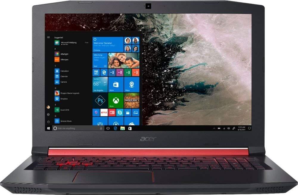 Tông màu đỏ đen mạnh mẽ cùng cấu hình CPU Intel 8th chinh phục mọi game thủ khó tính