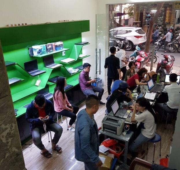 địa chỉ sửa chữa laptop, thay thế linh kiện laptop uy tín tại Hà Nội