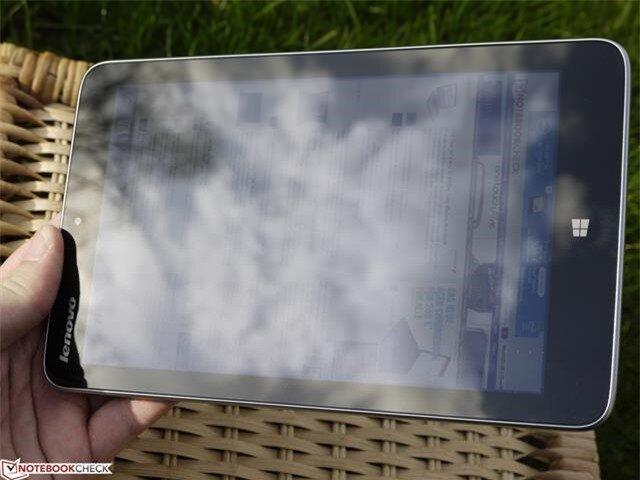 Tình hình sẽ xấu đi nếu bị ánh nắng chiếu trực tiếp vào màn hình