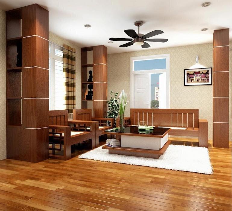 Đối với việc chọn gỗ cho sàn nhà