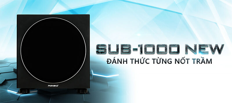 Loa siêu trầm Paramax SUB-1000