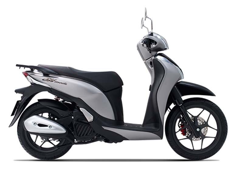 xe máy honda sh mode màu bạc