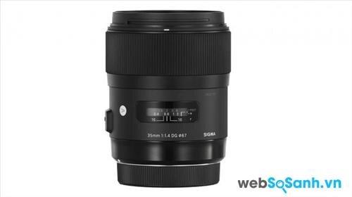 Óng kính Sigma 35mm f/1.4 DG HSM A