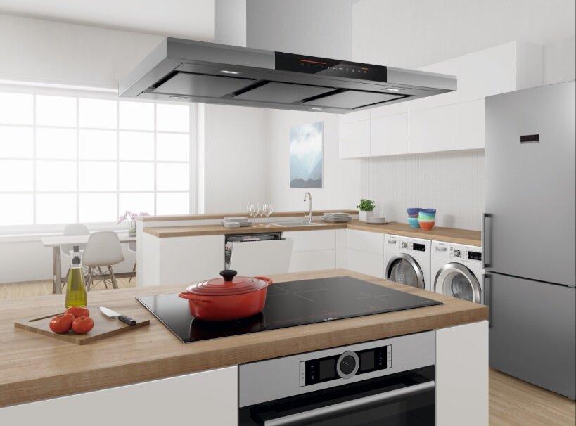 Bếp từ Electrolux góp phần tạo vẻ sang trọng cho nhà bếp