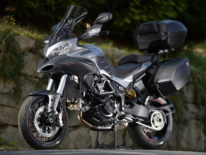 Xe moto Ducati Multistrada công suất mạnh mẽ