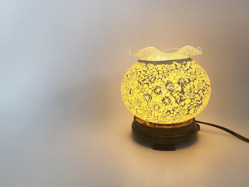 Đèn xông tinh dầu có thể được dùng làm đèn ngủ