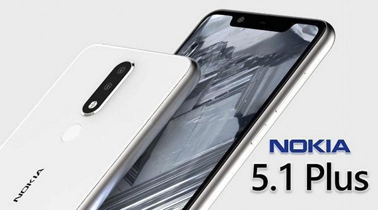 """Điện thoại Nokia 5.1 Plus giá rẻ bình dân những sở hữu thiết kế """"tai thỏ"""" thời thượng"""