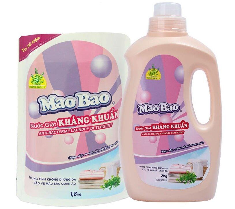 Nước giặt kháng khuẩn Mao Bao có tốt không? việc trải nghiệm thực tế sẽ cho bạn đánh giá tốt nhất