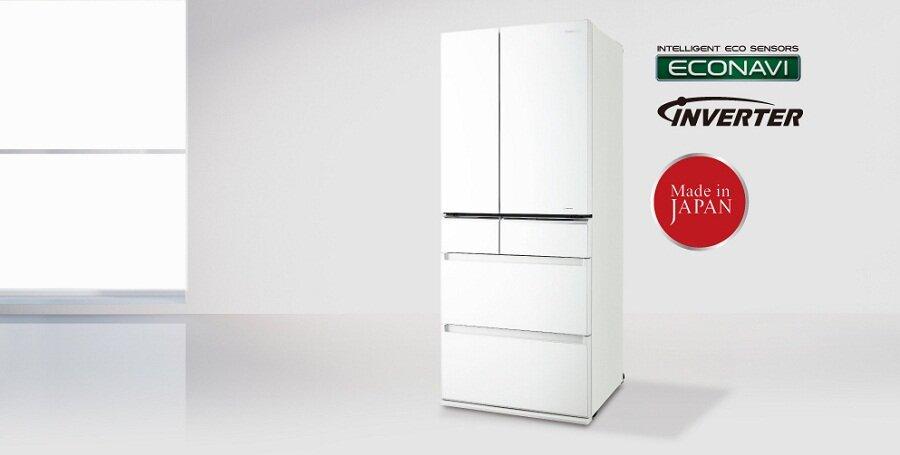 Giá bán tủ lạnh Panasonic NR-F610GT-W2, 588 lít, Inverter: 64.000.000đ
