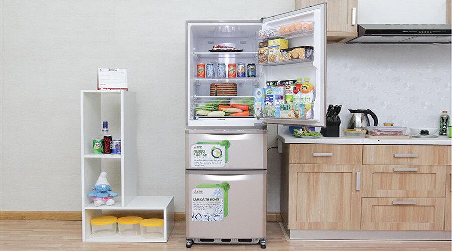 Cần chú ý đến những đặc điểm riêng của tủ lạnh 3 cánh