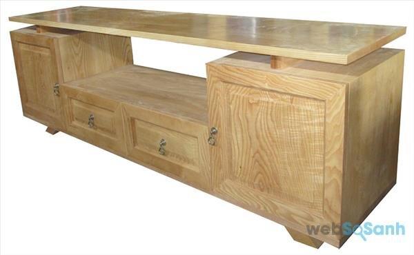 kệ tivi gỗ sồi tự nhiên giá bao nhiêu tiền