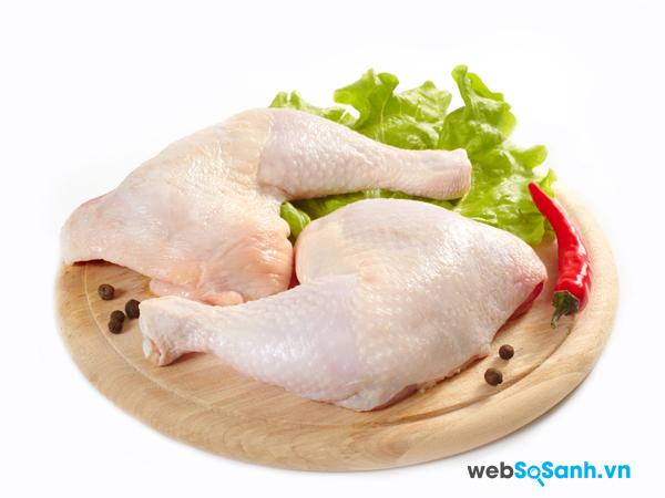Tuyệt đối không ăn thịt gà khi bị thủy đậu