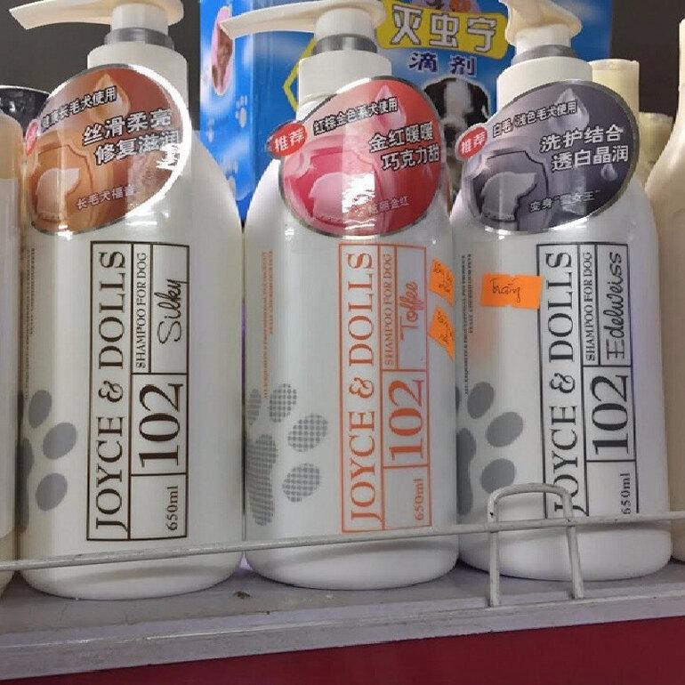 Sữa tắm cho chó Poodle nâu đỏ - Joyce & Dolls 102 Toffee