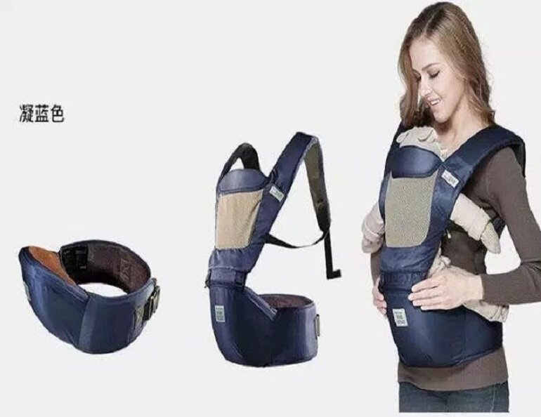 Địu Combi có thiết kế chắc chắn và an toàn