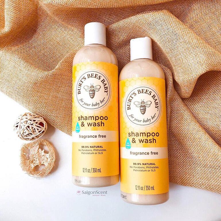 Sữa tắm Burt's Bees Baby Shampoo & Wash (Nguồn: cebevn.com)