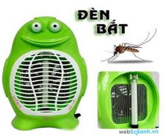 Đèn bắt muỗi bằng quạt hút (nguồn: internet)