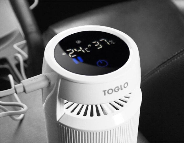 Máy lọc không khí Toglo với bảng điều khiển cảm ứng hiện đại