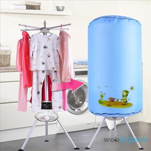 Máy sấy quần áo cho bé