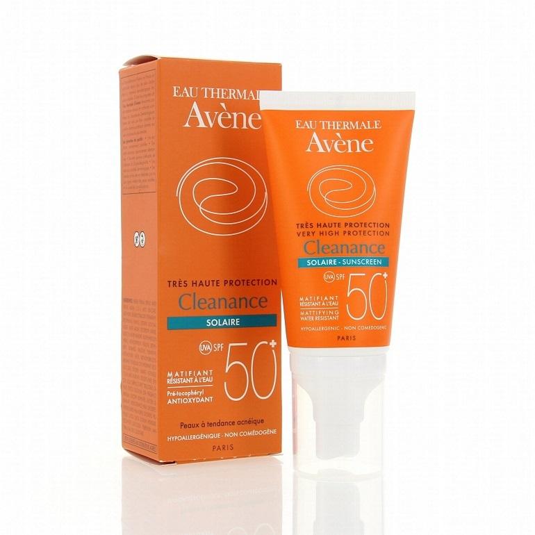 Kem chống nắng dành cho da dầu Avene Cleanance Solaire SPF 50+