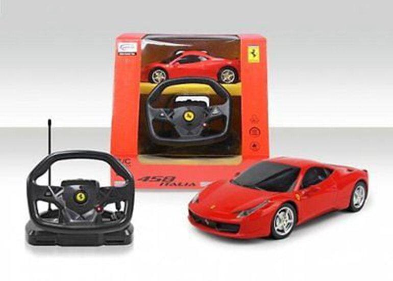 Xe điều khiển từ xa Xe Ferrari 458 Italy với volang