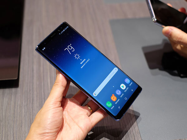 Galaxy Note 9 được trang bị hệ thống camera kép cực chuẩn