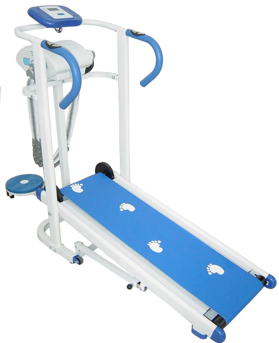 Máy chạy bộ cơ kích thước nhỏ gọn, dễ tập luyện