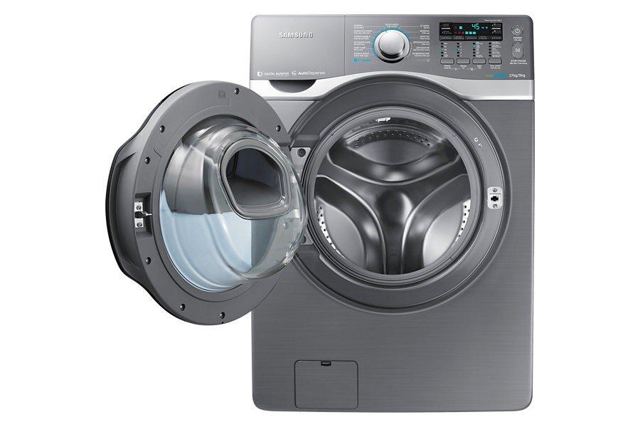 Cách vệ sinh máy giặt cửa ngang Samsung