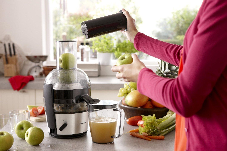 Sử dụng máy ép trái cây Philips HR1855 đúng cách sẽ giữ thiết bị luôn bền đẹp