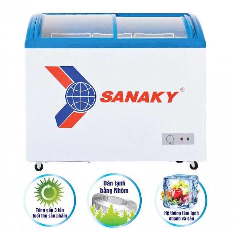 Tủ đông lạnh Sanaky VH-482K