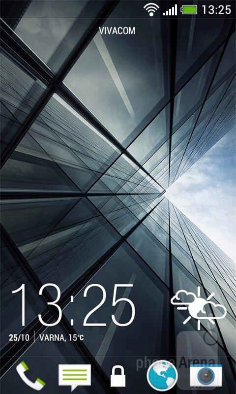 Nền tảng Android 4.1.2 được tùy biến theo cách riêng của HTC