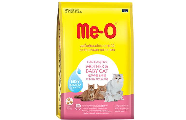 Thức ăn ME-O cho mèo mẹ mang thai và cho con bú