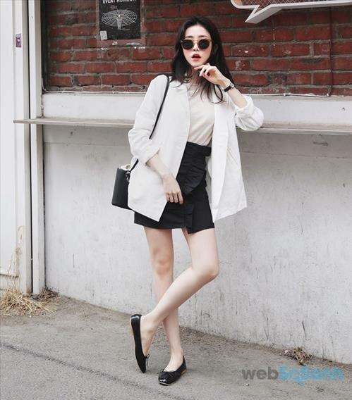 Áo khoác blazer vô cùng trẻ trung và phong cách