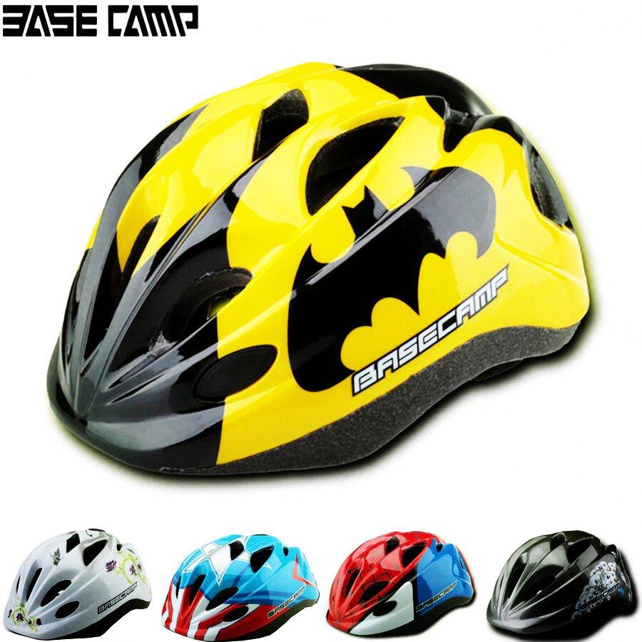 Mũ bảo hiểm trẻ em BaseCamp có nhiều lỗ thoáng khí nên đội rất thoải mái