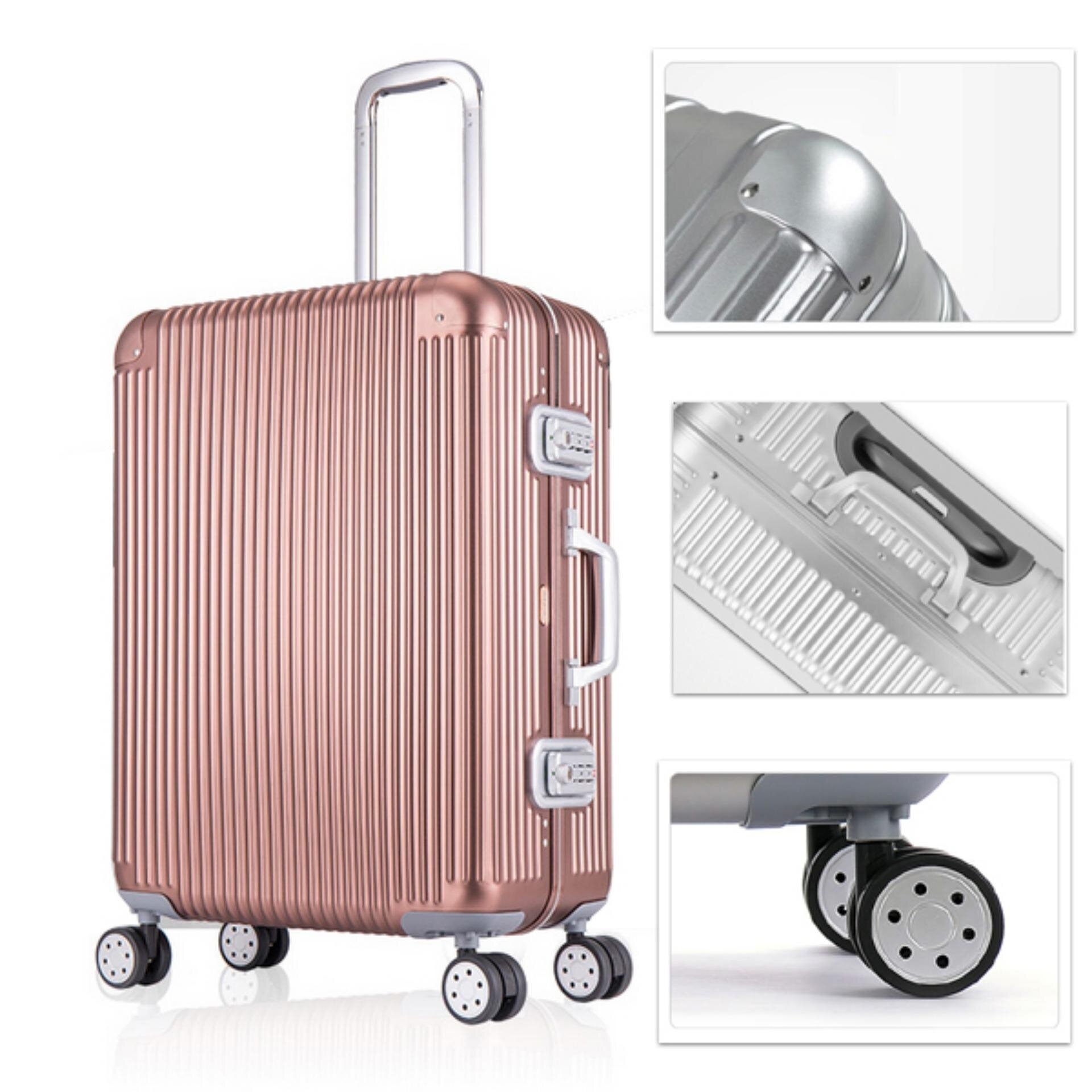 Vali nhôm cao cấp có gì khác so với vali nhôm giá rẻ ? | websosanh.vn