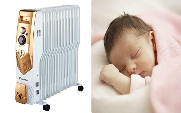 Nên chọn loại đèn sưởi phòng ngủ cho bé nào?