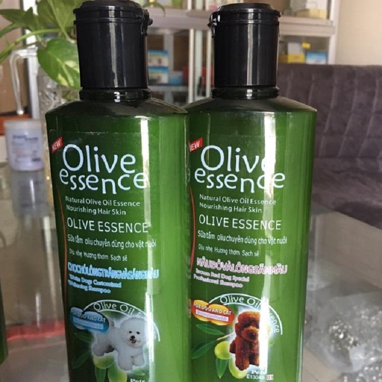 Sữa tắm cho chó poodle nâu đỏ Olive Essence Red-Dog Special