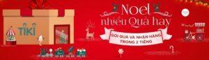 Noel nhiều quà hay - Gói quà nhận hàng trong 2 tiếng