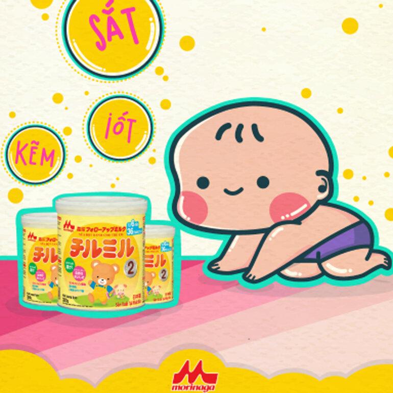 Tại sao sữa Morinaga nhập khẩu lại có mùi tanh hơn sữa Morinaga nội địa Nhật ?