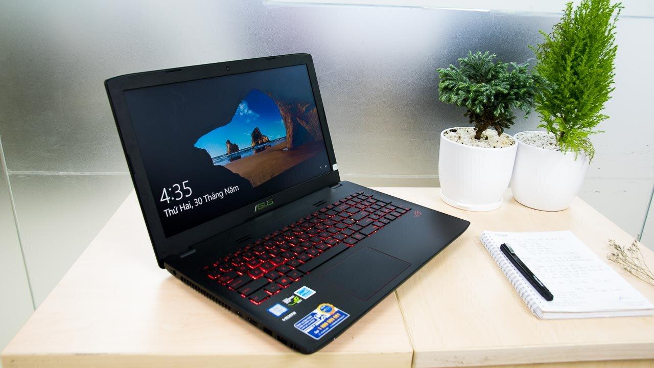 Asus GL552VX là chiếc laptop khoảng 20 triệu rất đáng tham khảo