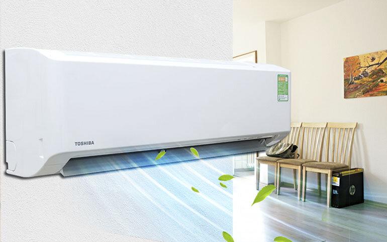 Điều hòa Toshiba RAS-H10S3KS-V 1 chiều 10000 BTU thiết kế hiện đại, hoạt động mạnh mẽ, tiết kiệm điện hiệu quả nhất
