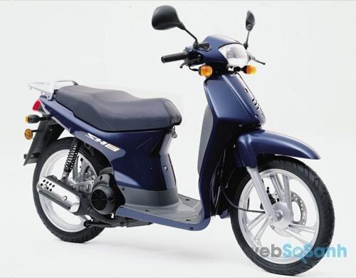 Honda SH thế hệ thứ 2 - sự thay đổi kiểu dáng