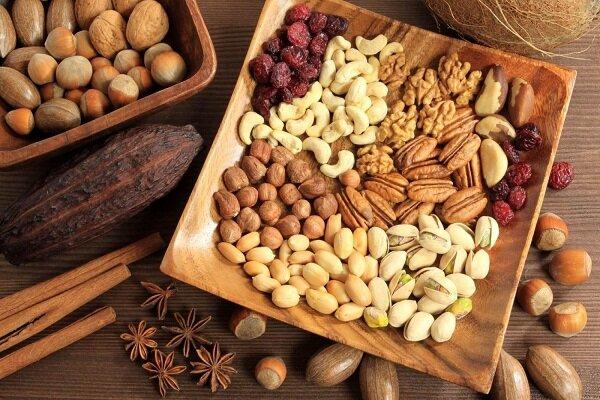 Các loại hạt cây khô