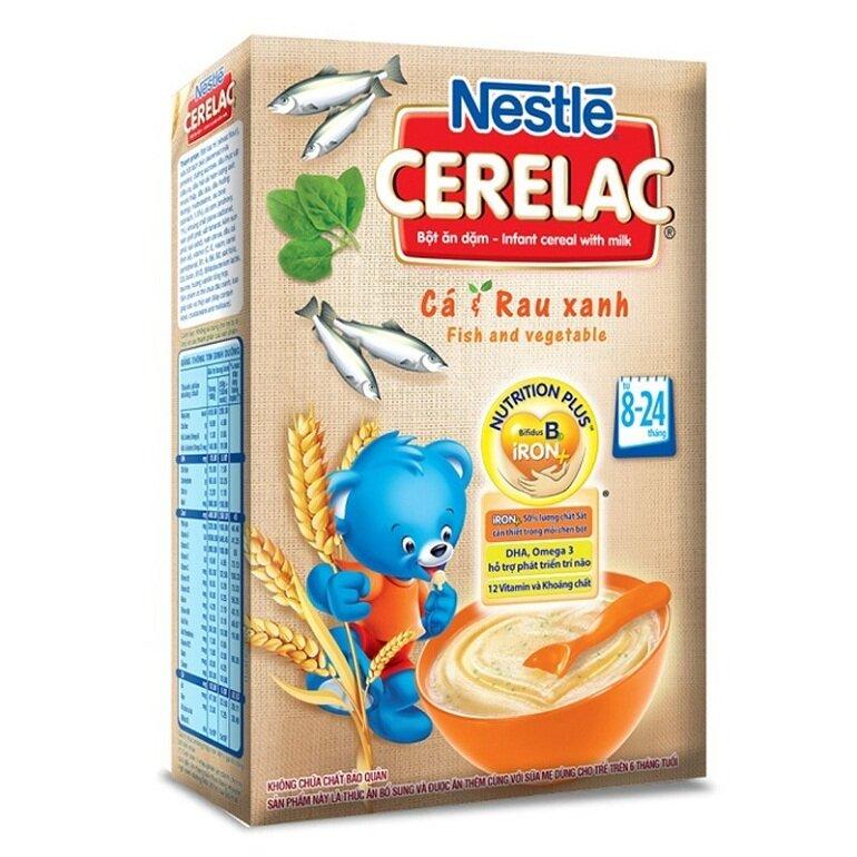 Bột ăn dặm Nestle cung cấp đầy đủ 4 nhóm tinh bột, chất đạm, chất xơ, các vitamin và khoáng chất