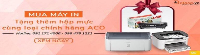 Mua máy in tặng mực in - chỉ có tại bataca.vn