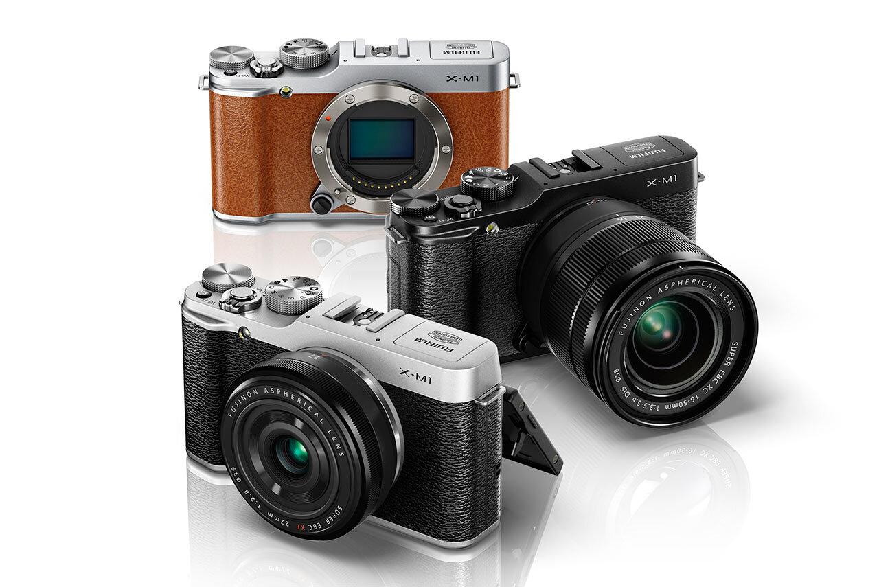 Máy ảnh Mirrorless Fujifilm X-M1