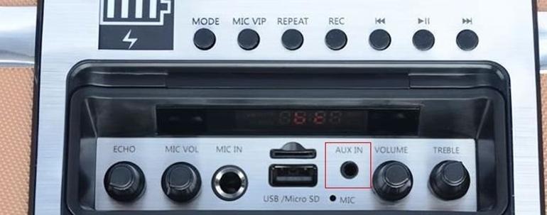kết nối loa kéo với tivi