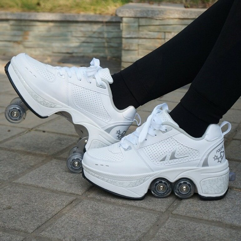 Giày patin 4 bánh gấp xếp của thương hiệu Heelys